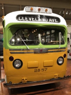 Fantasy Aisle, The original bus that Rosa Parks was on when she refused to give up her seat in 1955. Located in the Henry Ford Museum