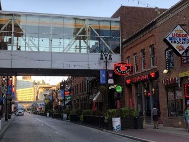 Fantasy Aisle, Greektown, Detroit, a lively entertainment area