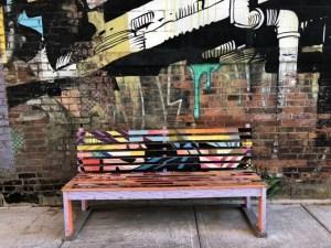Fantasy Aisle, Fun graffiti and art in Greektown, Detroit