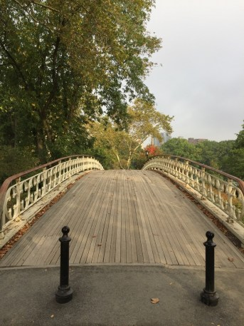 Fantasy Aisle, Gothic bridge, connecting the Reservoir to the Tennis Courts at 94th Street