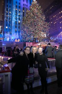 Fantasy Aisle, Friends at the Rockefeller Center Tree Lighting in NYC