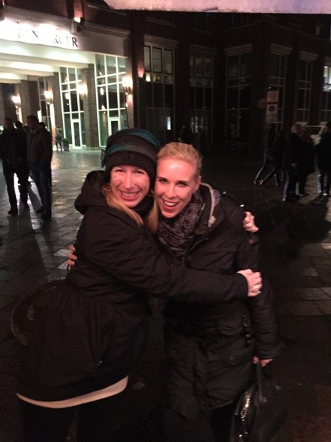 Fantasy Aisle, Celebrating Christmas with my friend Corinna in Hamburg