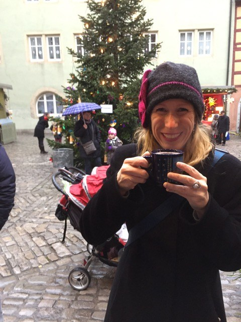 Fantasy Aisle, My first Glühwein in Rothenburg