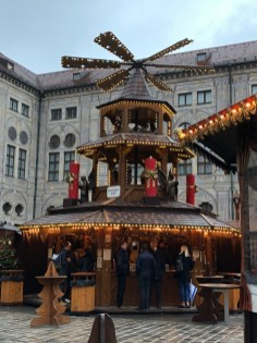 Fantasy Aisle, Pyramid, center of the Weihnachtsdorf in Kaiserhof der Residenz