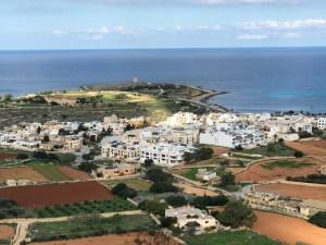 Fantasy Aisle, Malta landscape and the Mediterranean Sea