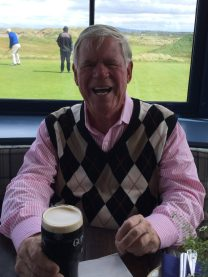Fantasy Aisle, My dad at the Lahinch Golf Course