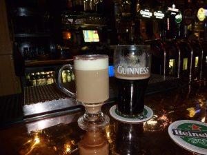 Fantasy Aisle, Guinness and Baileys Irish Cream, the perfect Irish blend