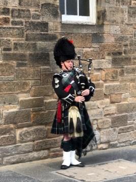 Fantasy Aisle, Highland Bagpiper in traditional attire