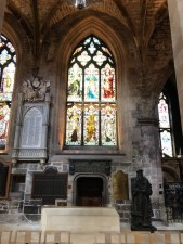Fantasy Aisle, Inside St. Giles Church, Church of Scotland dating from the 14th Century