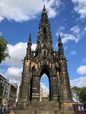 Fantasy Aisle, Scott Monument, in honor of Sir Walter Scott the historical novelist.