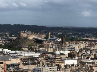 Fantasy Aisle, View of Edinburgh from Arthur's Seat