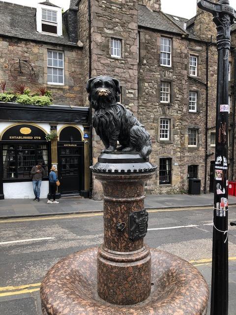 Fantasy Aisle, John Gray's famous Skye Terrier Bobby