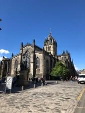 Fantasy Aisle, St. Giles Church, on the Royal Mile, Edinburgh, Scotland