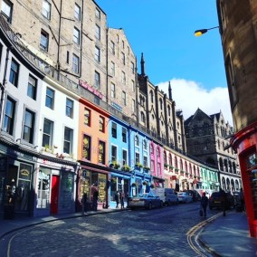 Fantasy Aisle, Grassmarket or Harry Potter's Diagon Alley. You decide?
