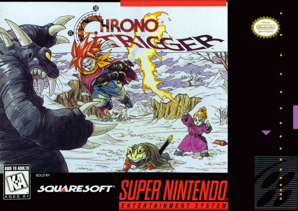 Image result for Chrono Trigger SNES box