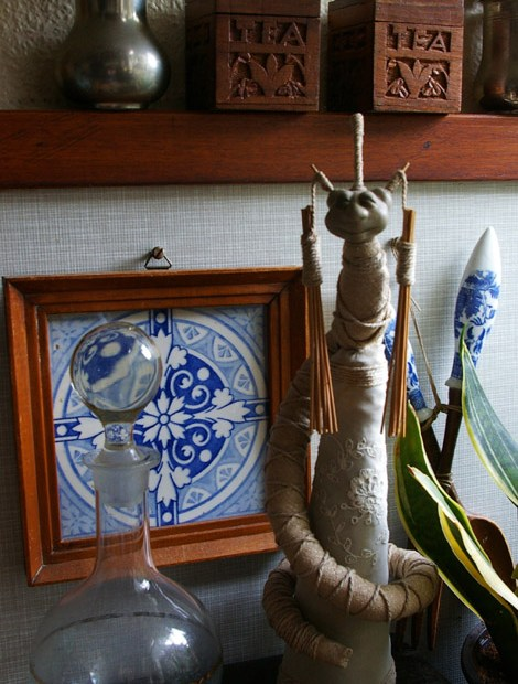 Fantasycreations snake creature fantasy art doll kitchen stillife