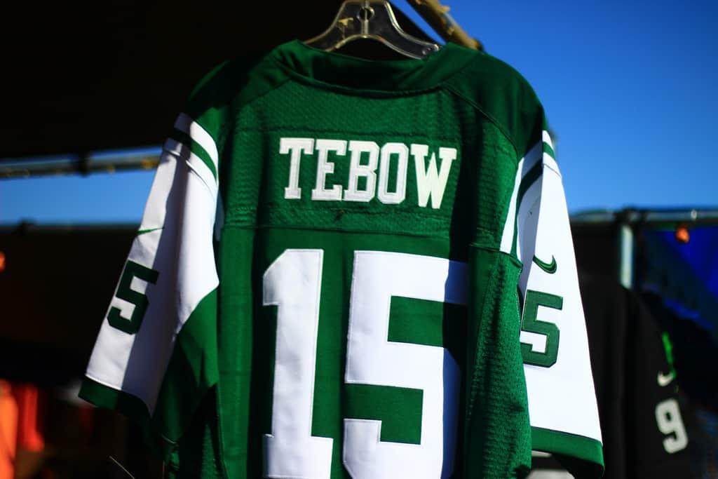 Tim Tebow New York Jets Jersey