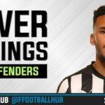 FPL Power Rankings 2017/18: Defenders (GW6)