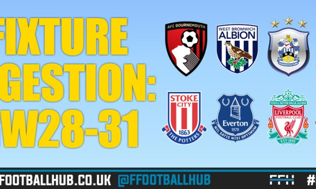 GW28-31 Fixture Preview: Assessing the 8 Clubs who feature during Gameweek 31