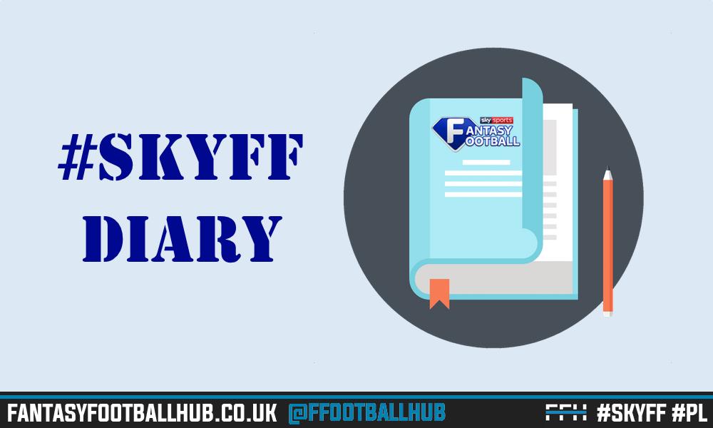 Sky Sports Fantasy Football Diary – GW31