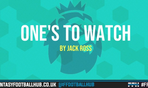 FPL One's to Watch: GW38