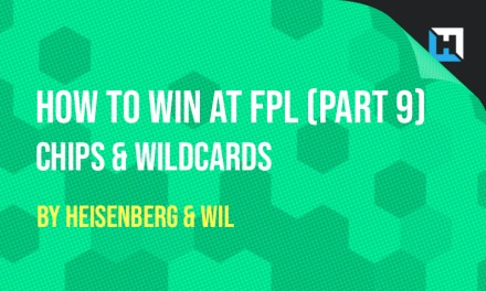 How To Win at FPL – Part 8 & 9 – Rotation & Chips