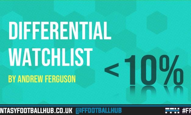 Differential Watchlist – FPL Tips GW10