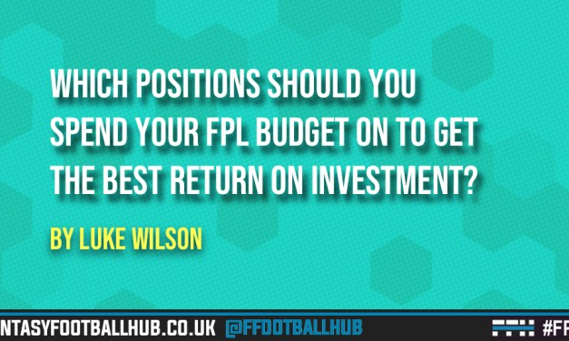 Which positions should you spend your fantasy budget on to get the best return on investment? – The GW12 update