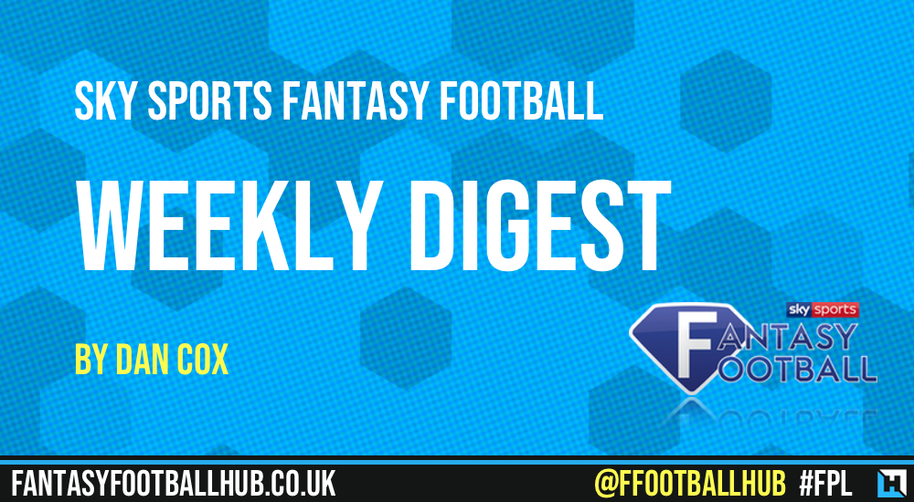 Sky Sports Fantasy Football – The Weekly Digest GW27