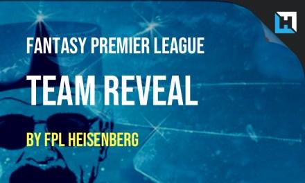 FPL Heisenberg's Team Reveal: Gameweek 4