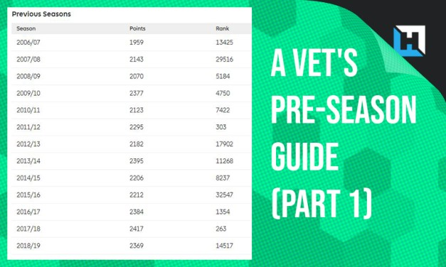 A Vet's Guide to Preparing for an FPL Season (Part 1)