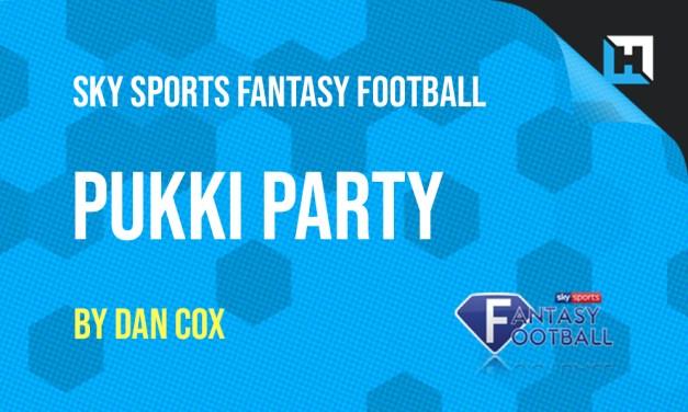 Pukki Party – Sky Sports Fantasy Football