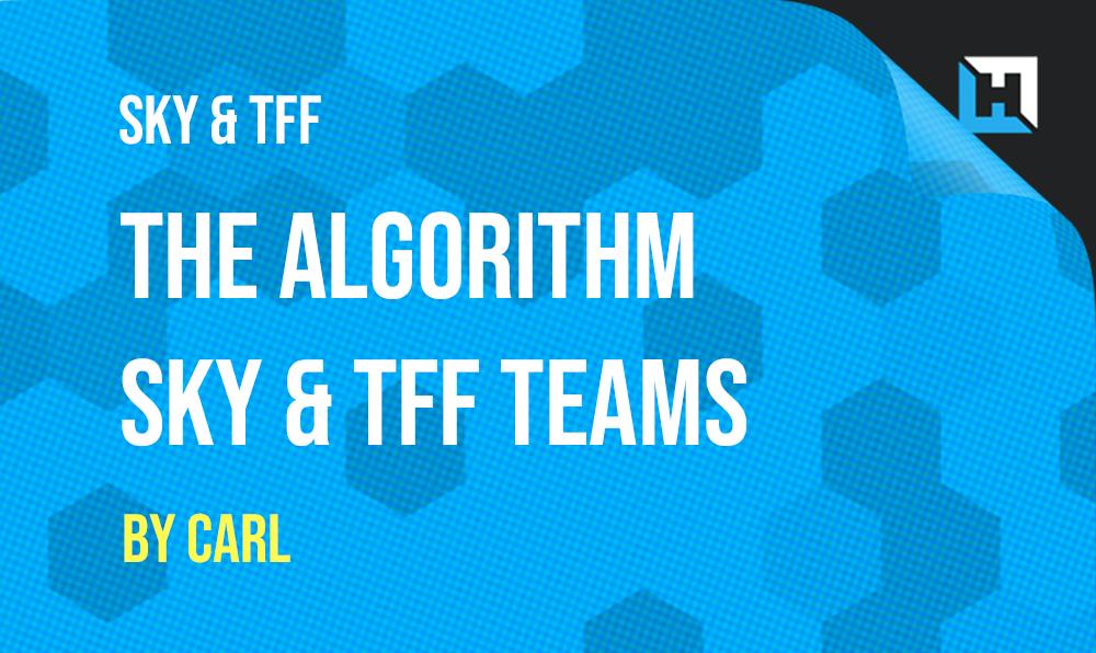 Algorithm Teams – Sky & Telegraph Week 4