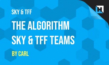 Algorithm Teams – Sky overhaul & Telegraph plan