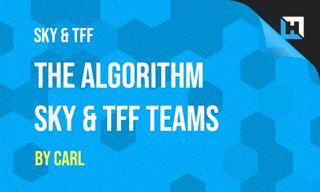 Algorithm Teams – Sky Sports Fantasy Football & Telegraph Week 6