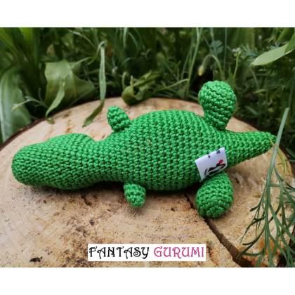 bebe dinosaure vert