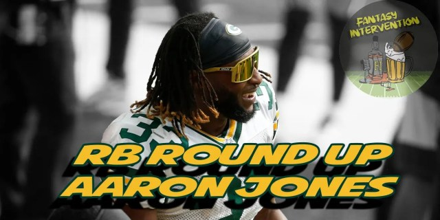aaron jones, green bay packers, running backs, running back round up, free agents, free agent running backs