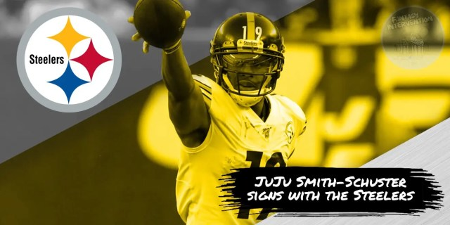 JuJu Smith-Schuster has signed up for one more season in Pittsburgh.
