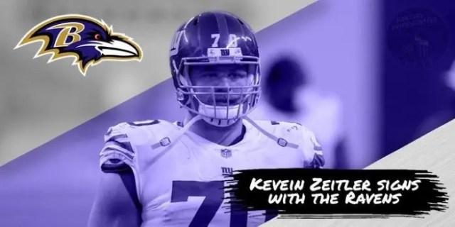 Kevin Zetiler Signs With Ravens