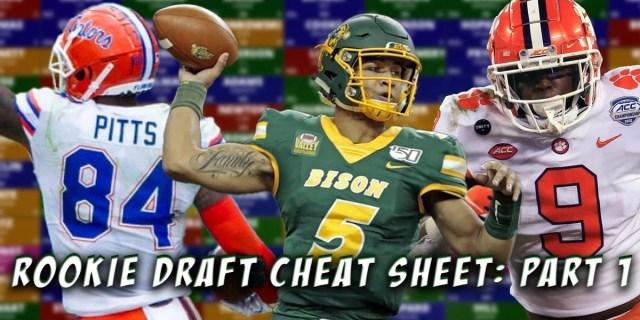 Rookie Draft Cheat Sheet