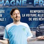 Winamax offre une voiture Allemande pendant l'Euro 2016