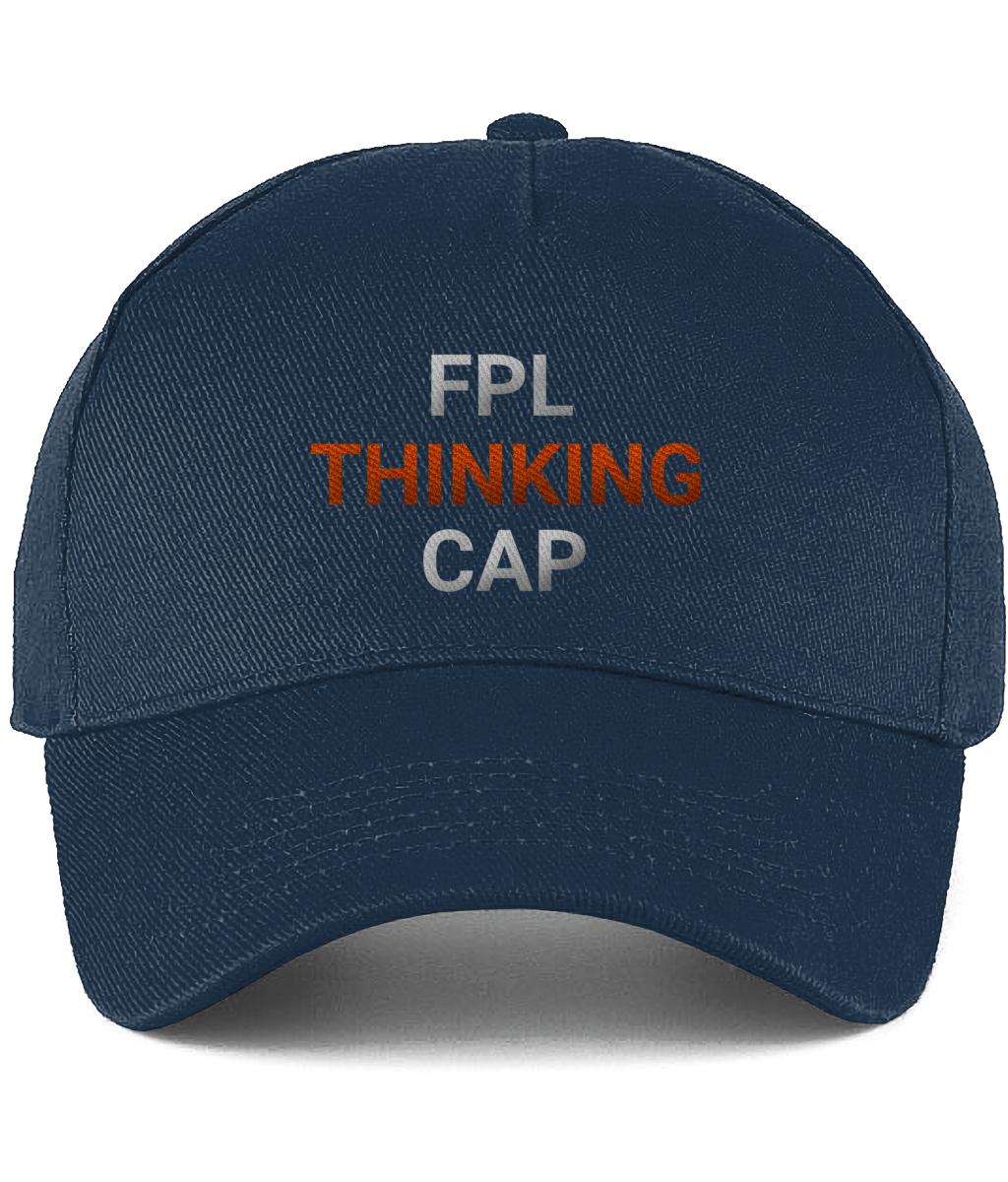 FPL Thinking Cap - Blue/Orange - Fantasy PL Tips