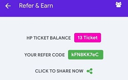 Halaplay Refer and Earn