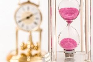 Het laten voorbijgaan van tijd