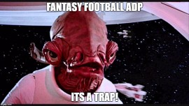 Fantasy Football ADP Analysis