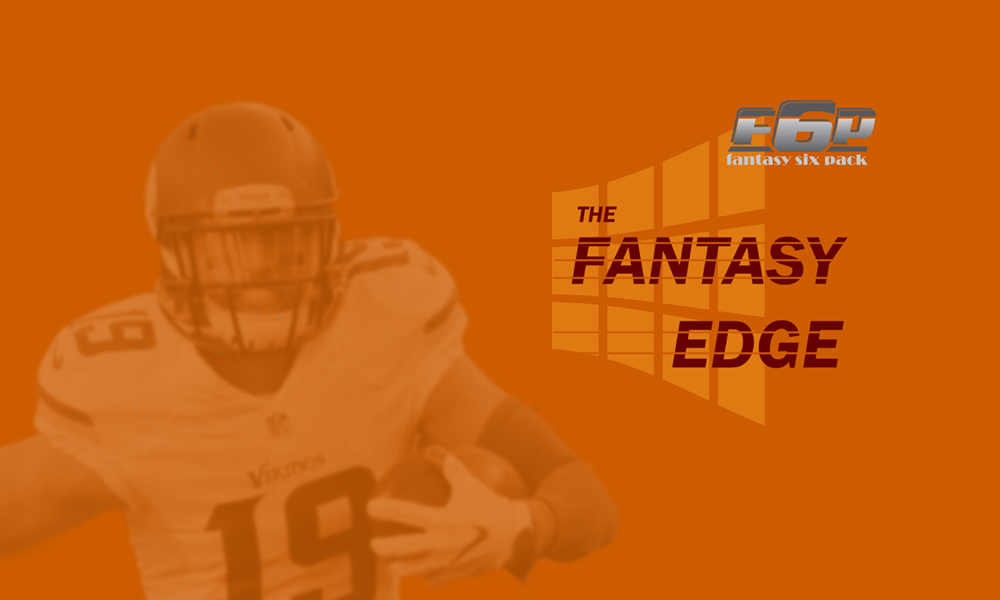 The Fantasy Edge 2019 Week 7