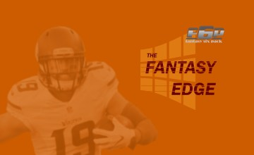 The Fantasy Edge 2019 Week 8
