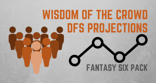 Fantasy Six Pack MLB NBA NFL DFS Projections