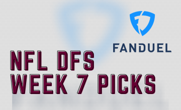 2020 NFL DFS Week 7 FanDuel Picks