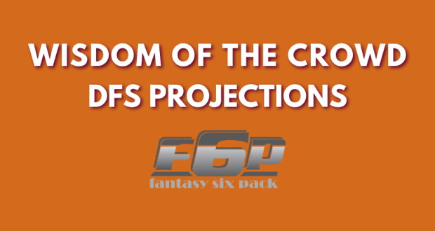 Fantasy Six Pack MLB NBA NFL DFS Projections